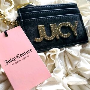 NWT JUICY COUTURE Lenny card case